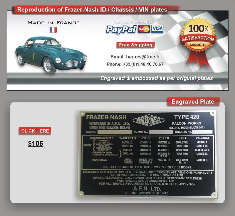 Delighted Vin Plate Check Gallery Classic Cars Ideas